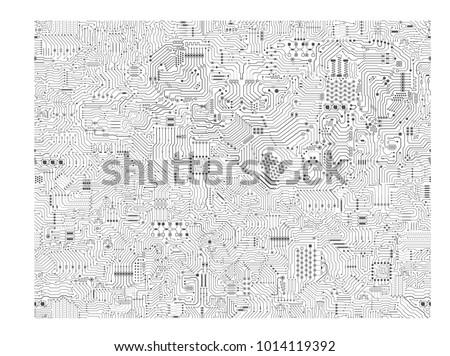 seamless circuit pattern or