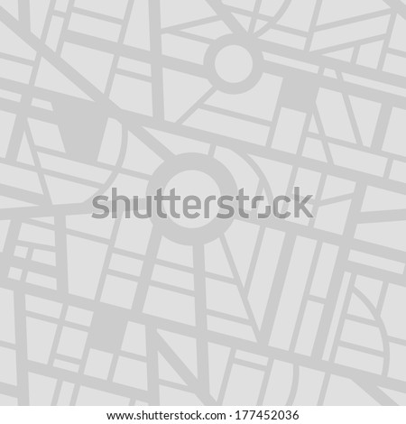 Seamless city map pattern #177452036