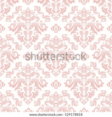 seamless classic vector pink