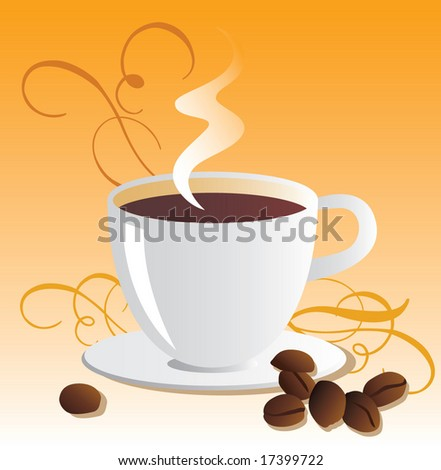 Seamless Coffee Menu Template, Background. Vector. For more illustrations VISIT MY GALLERY.