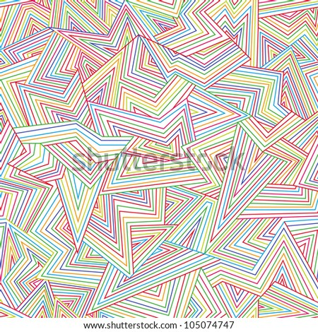 Seamless color abstract background. Vector illustration