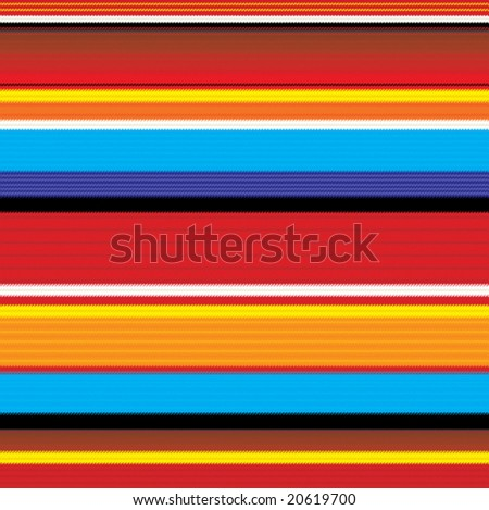 seamless colorful mexican fabric pattern