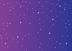 seamless confetti stars background for christmas time on gradient background
