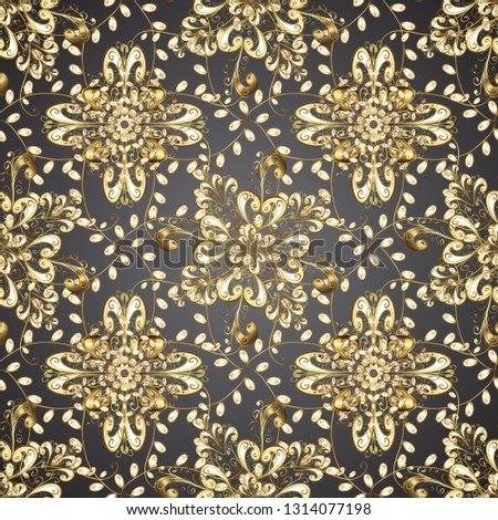 stock-vector-seamless-damask-pattern-background-for-wallpaper-design-in-the-style-of-baroque-golden-pattern-on
