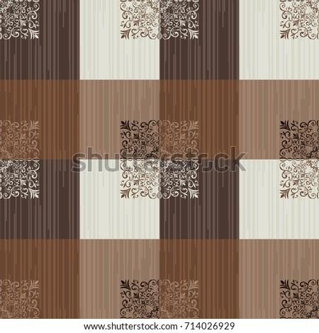 seamless  damask pattern....
