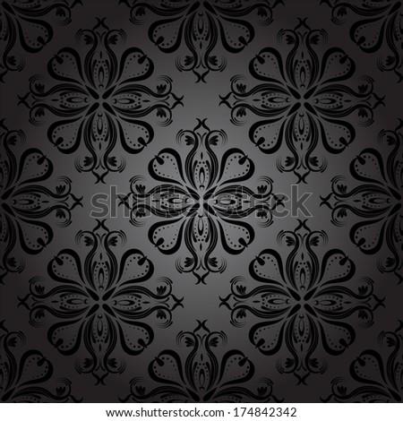 seamless dark wallpaper