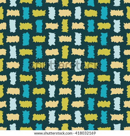 Seamless decorative vector background with abstract shapes. Print. Cloth design, wallpaper.