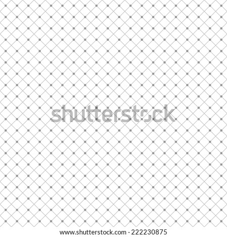 Seamless diamond pattern with dots