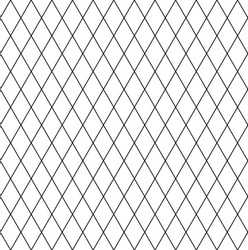 Seamless diamonds pattern. Latticed geometric texture. Vector art.