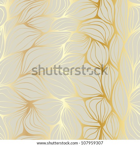Seamless doodle abstract ripples pattern