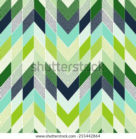 stock-vector-seamless-doodle-dots-zig-zag-patchwork-pattern