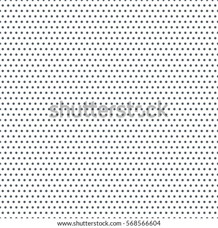 Seamless dots pattern with white background