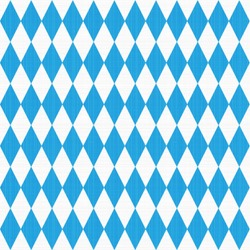 Seamless (easy to repeat - you see 9 tiles ) Oktoberfest and Bavarian flag pattern or background with fabric texture ( for high res JPEG or TIFF see image 113435746 )