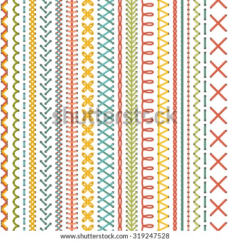 seamless embroidery pattern