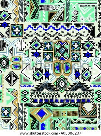 seamless ethnic design