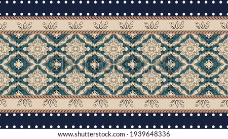 seamless ethnic pattern design.Geometric ethnic oriental ikat pattern traditional Design.Geometric ethnic oriental pattern traditional Design for background,carpet,clothing,wrapping,fabric,embroidery