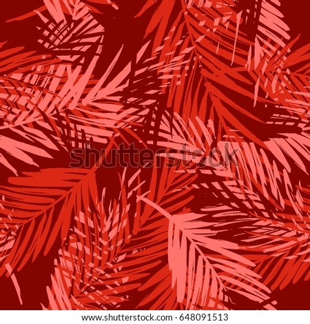 seamless exotic pattern with
