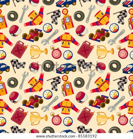 seamless f1 racing pattern