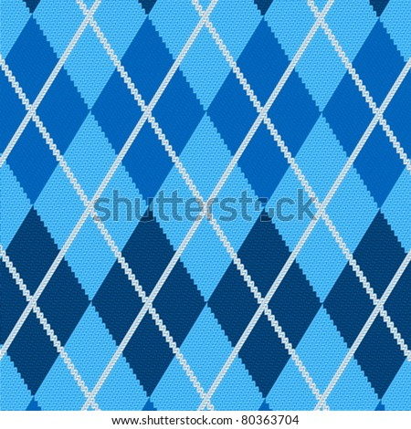 Seamless fabric pattern background. Vector illustration.
