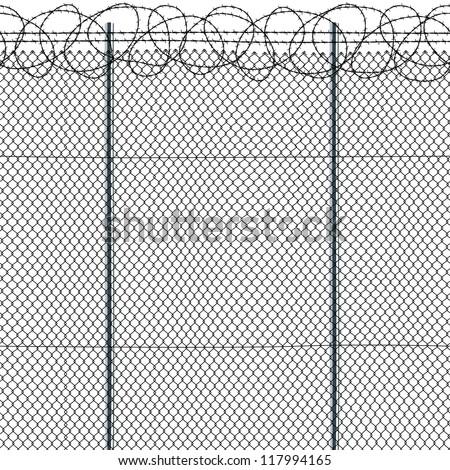 seamless fence
