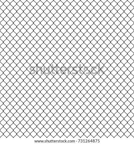 seamless fence rabitz pattern