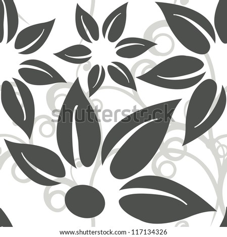 seamless floral background (repeating top to down and left to right)