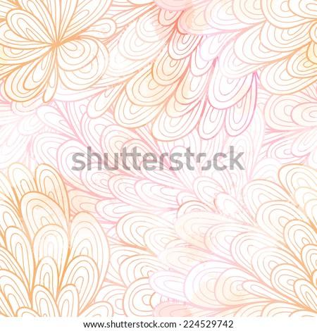 seamless floral grunge pastel