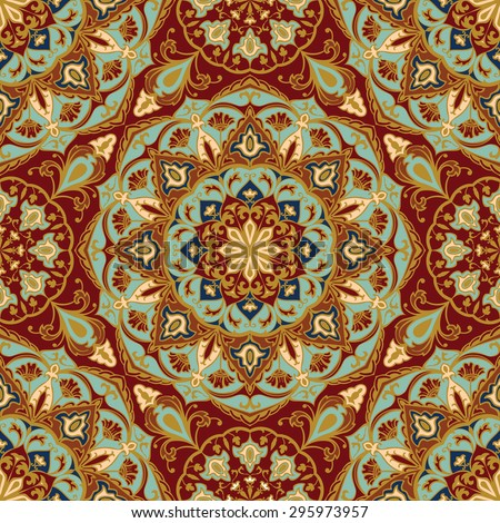 seamless  floral  ornamental