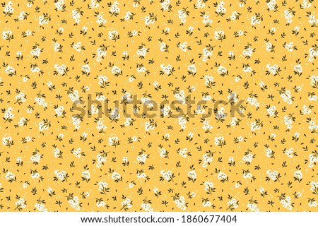 seamless floral pattern ditsy