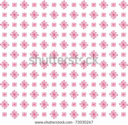 Seamless floral pattern, eps 10