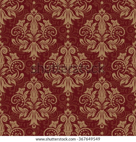 seamless floral pattern for