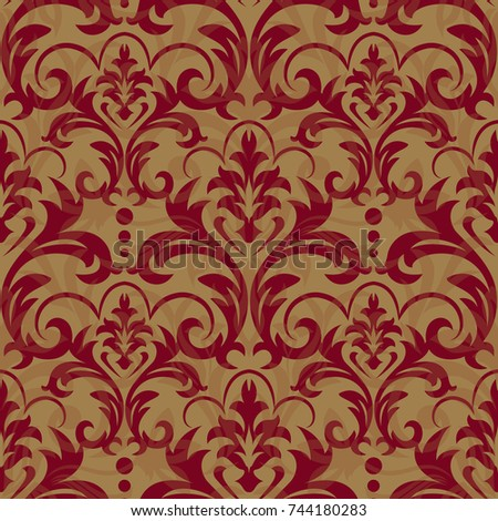 seamless floral pattern for...