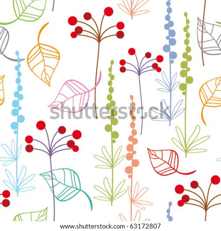 seamless floral pattern for your design