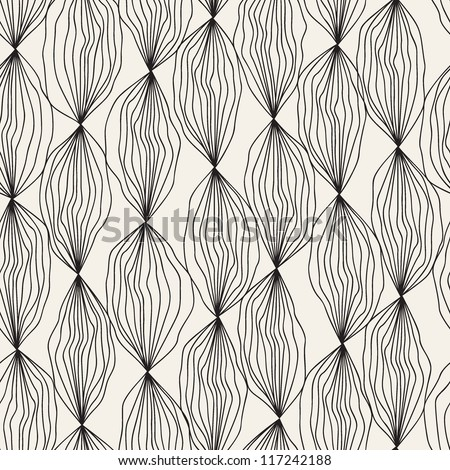 Seamless floral pattern. Stylish repeating texture