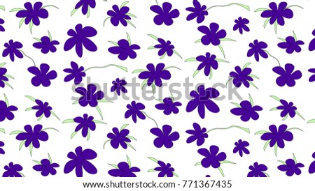 seamless floral pattern   ultra
