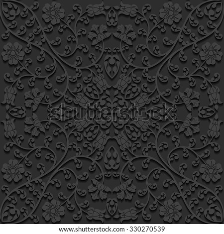 stock vector seamless floral pattern vector illustration 330270539 - Каталог — Фотообои «3D Текстуры»