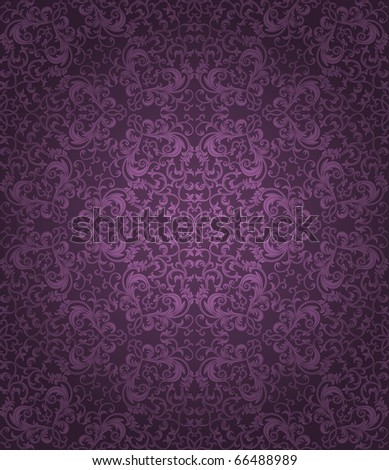 Seamless floral pattern. Vector illustration.