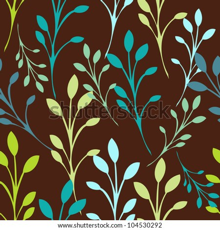 stock-vector-seamless-floral-pattern-with-leaves