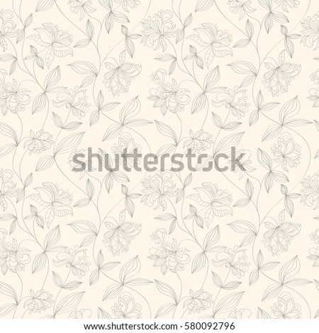 seamless flower pattern can be