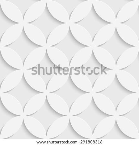 stock vector seamless flower pattern vector soft background regular white texture 291808316 - Каталог — Фотообои «3D Текстуры»