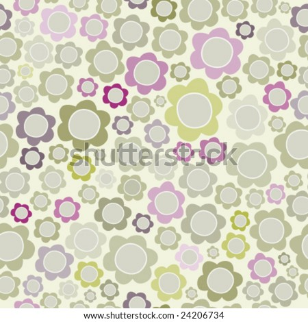 seamless flower repeat pattern