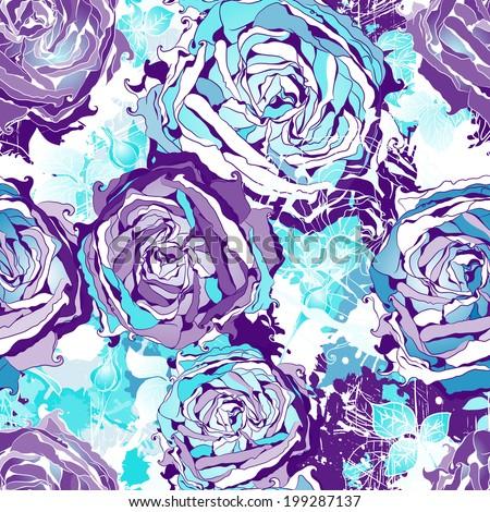 seamless flowers wallpaper