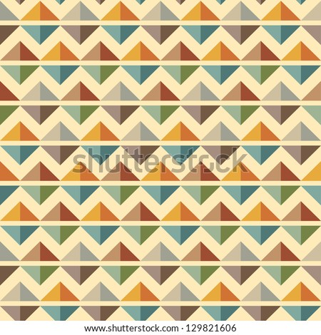 Seamless geometric, abstract pattern. Can be used in textiles, for book design, website background.
