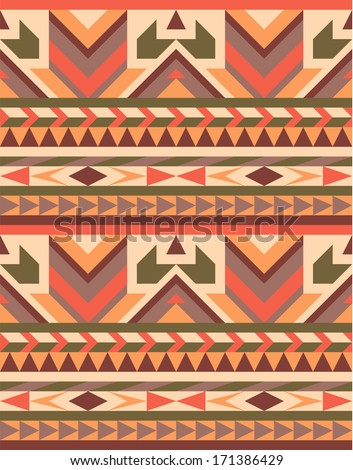 seamless geometric aztec