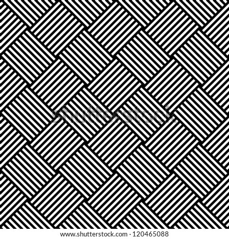 Seamless geometric checked texture. Vector art.