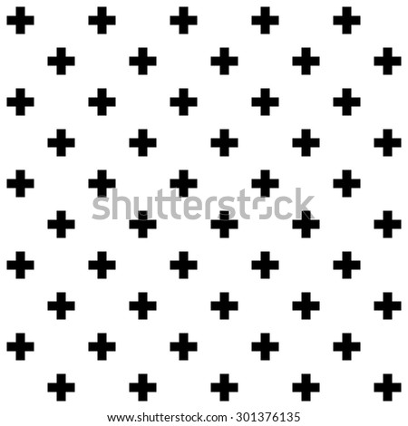 seamless geometric crosses