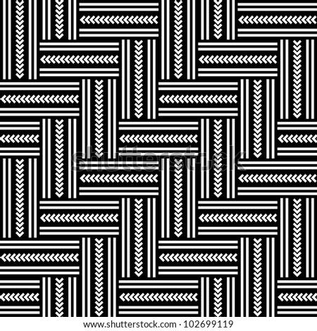 Seamless geometric herringbone pattern. Vector art.