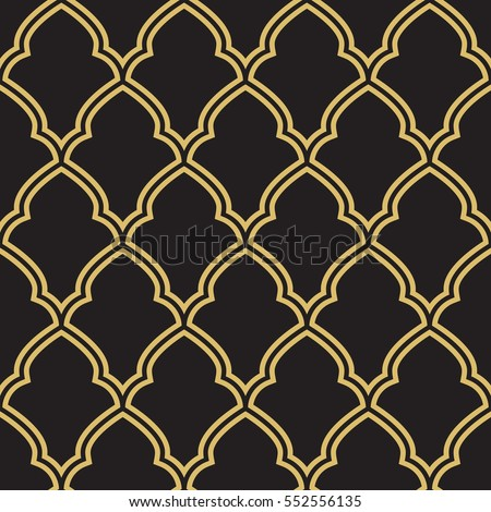 Seamless geometric morrocan trellis pattern. Inspired by old ornaments