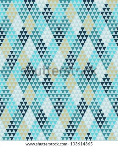 Seamless geometric pattern #2