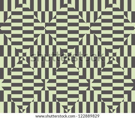 Seamless  geometric pattern background